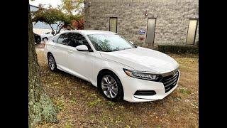 2019 Honda Accord - 1100 миль ,10200$ выигрышная ставка. Авто из США.