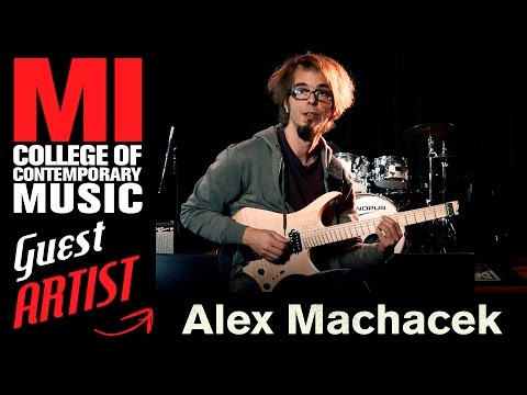 Alex Machacek Sweep Guitar Picking Techniques  Musicians Institute