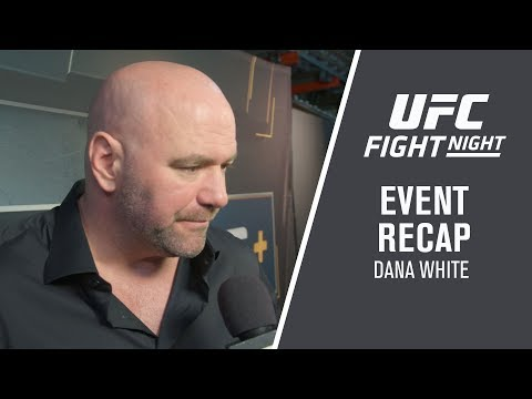 UFC Brooklyn: Dana White Event Recap