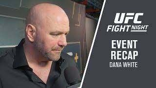Fight Night Brooklyn: Dana White Event Recap