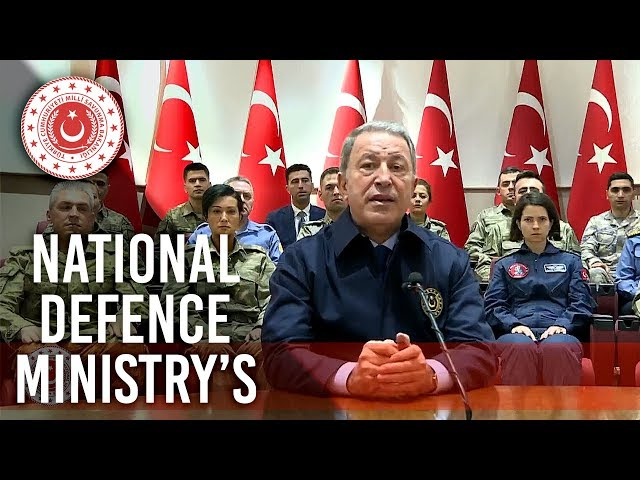 Minister Akar,  explained the National Defence Ministry's activities that were carried out in 2019
