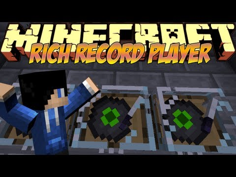 how to make record player in minecraft