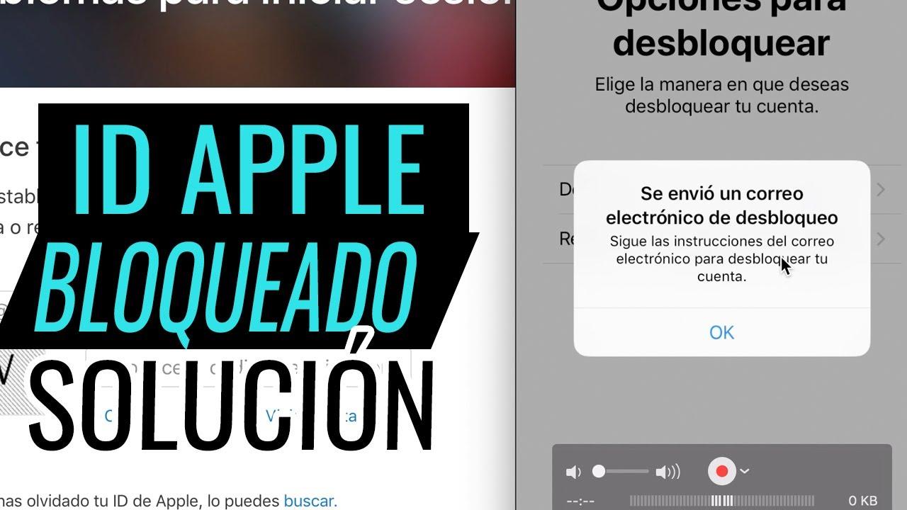 Desbloquear Apple Id Bloqueado