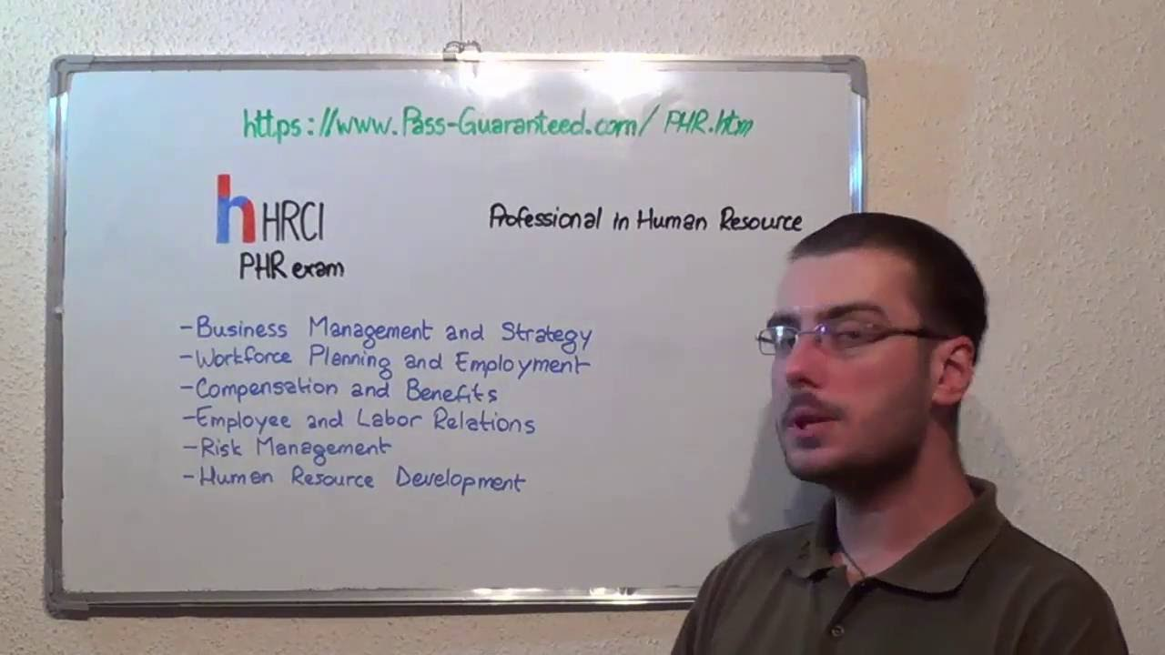 PHR – Professional Exam Human Resources Test PHR Questions - YouTube