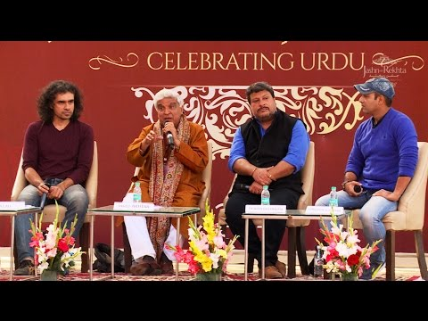 Jashn-e-Rekhta 2016: Urdu in Films (Javed Akhtar, Imtiaz Ali, Javed Siddiqui...)