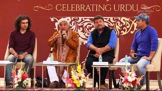 Urdu in Films I Javed Akhtar I Imtiaz Ali I Tigmanshu Dhulia I Javed Siddiqui I Jashn-e-Rekhta 2016