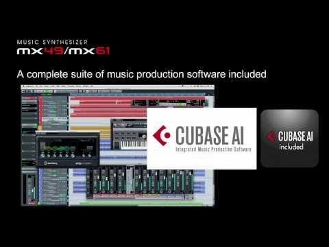 YAMAHA MUSIC SYNTHESIZER MX49/MX61 Intro Movie