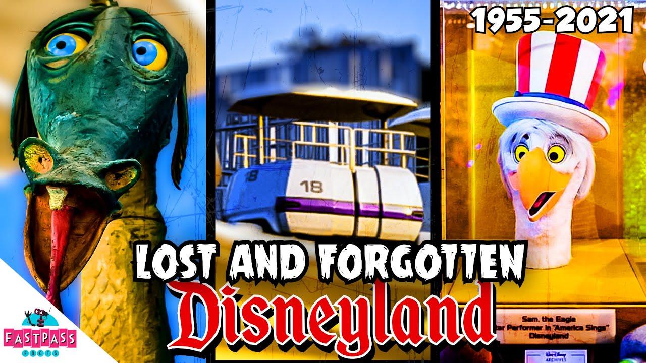 Lost and forgotten Disneyland
