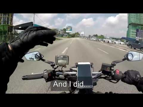 SINGAPORE TO DESARU - Motorcycle Roadtrip Part 1/4
