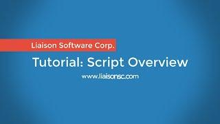 Liaison Messenger EDD Script Editor [5/5]