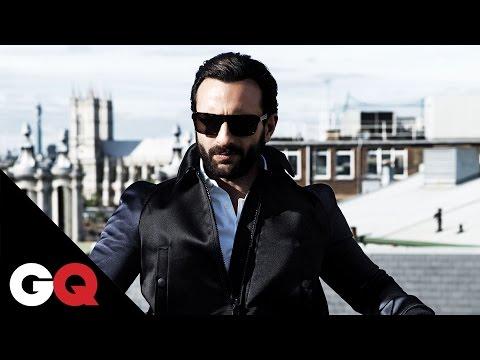 Saif Ali Khan - GQ January Cover Shoot - Behind The Scenes