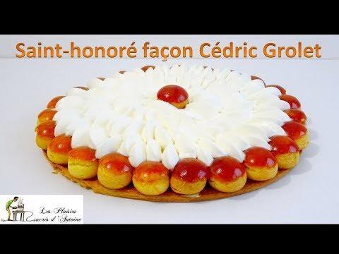 Recette - Saint honoré, façon Cédric Grolet [TUTO]