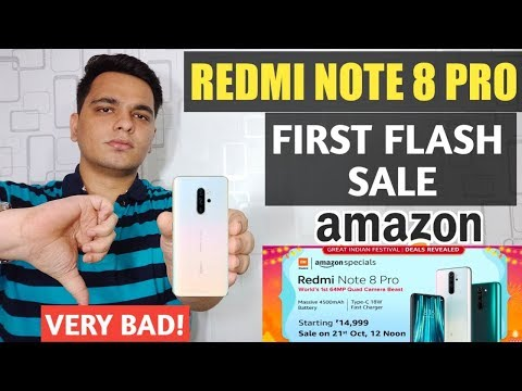 Redmi Note 8 Pro First Flash Sale Experience With Amazon - Xiaomi Need To Stop This 😠