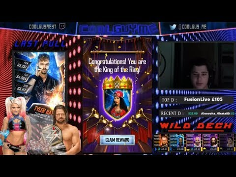 SHATTERED PLATINUM PACK!! & NEON KOTR WIN!!!  |  WWE Supercard #10 (Season 5)