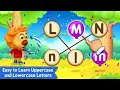 Alphabets Learning for kids | Learning the uppercase and lowercase Letters|ABC games