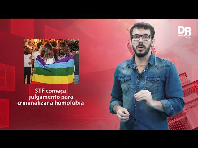 Supremo começa julgamento sobre criminalização da homofobia