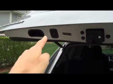 Toyota Highlander 2017 Motorized Lift Gate Problem