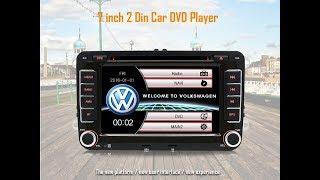 Junsun 7inch 2 din Car DVD GPS reproductor de ràdio estèreo per a Volkswagen VW