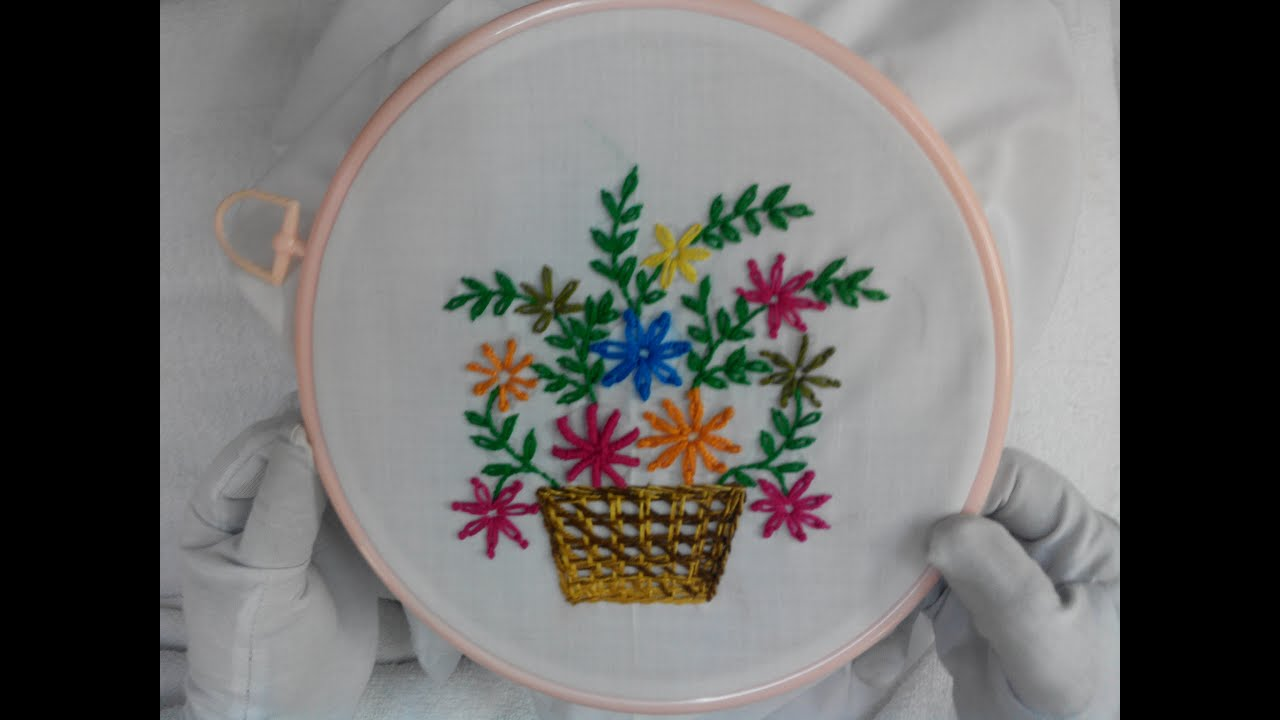 Simple hand embroidery designs for tablecloth - Simple Hand Embroidery Designs For Tablecloth 48