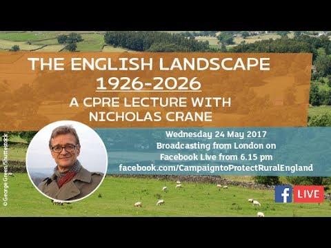 Nicholas Crane: The English Landscape 1926-2026