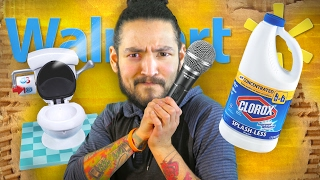 BLEACHED EYES DISASTER • WALMART DELIVERY TIME