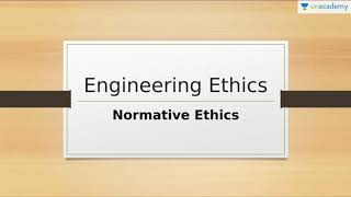 Moral, Normative Ethics & Work Ethics, Scope of Ethics & Area of Ethical Study