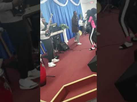 Rehearsal With Pastor Lord Lombo