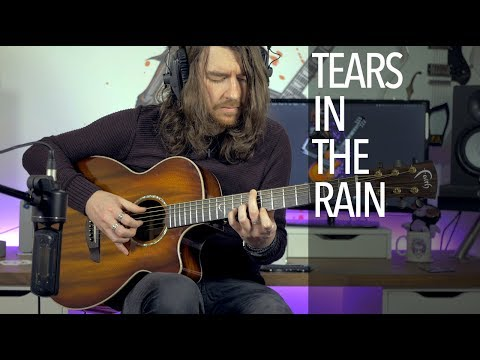 Tears In The Rain - Joe Satriani (Acoustic Guitar Cover)