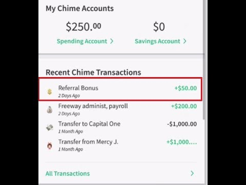Learn how to receive a $50 Chime referral bonus (Paycheck deposited 2 days  early)