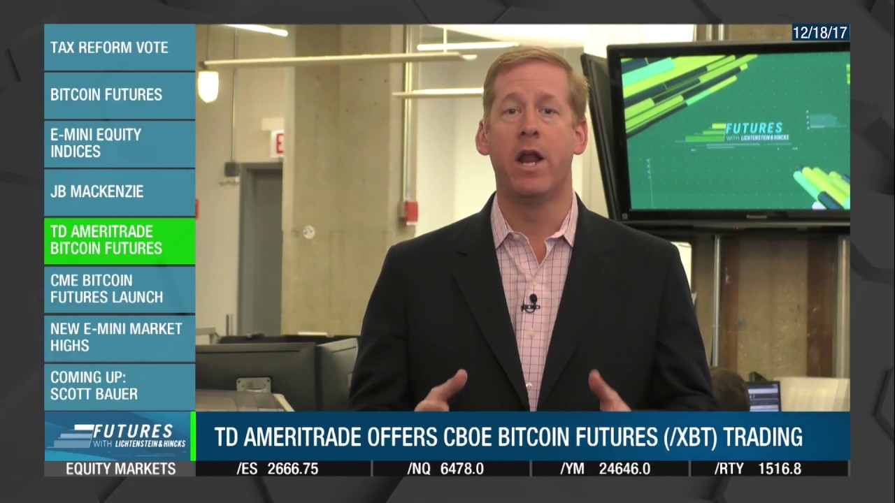 does td ameritrade trade bitcoin