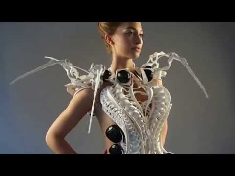 Anouk Wipprecht (Fashion Tech Designer) Robotic Fashion and Intuitive Interfaces