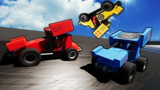 Idiots RACE Little Tikes & Sprint Cars! - Brick Rigs Multiplayer Gameplay