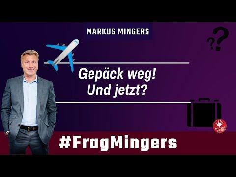 Gepäck weg! Was jetzt?   #FragMingers