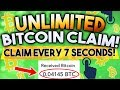 Claim Free Bitcoins FAST and INSTANT - YouTube