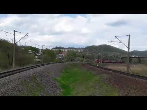 Быстрая электричка. Электропоезд ЭП3Д-0033 сообщением Партизанск-Владивосток с приветливой бригадой