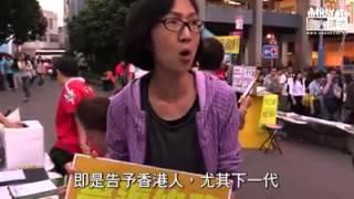【佔中】【自己心聲自己講】市民:最重要是回歸法治,否則香港還要法治來幹什麼?