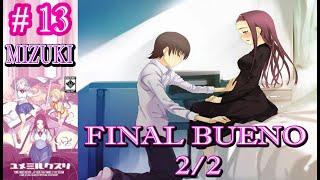 YUME MIRU KUSURI - Final Bueno de Mizuki Kirimiya 2/2 - Let´s play 13