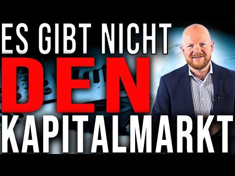 Es gibt nicht DEN Kapitalmarkt I Jens Rabe