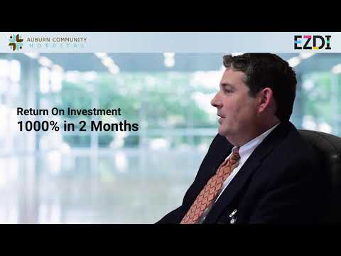 Jason Lesch - CFO, Auburn Community Hospital | EZDI Customer Testimonial