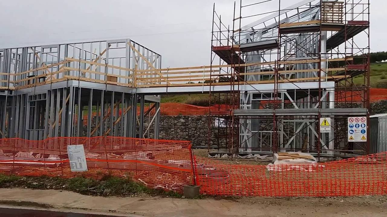 Cantiere casa antisismica a risparmio energetico struttura for Risparmio energetico casa
