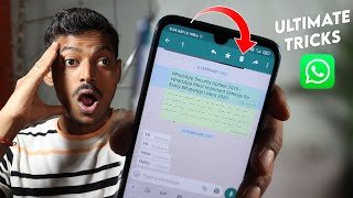 WhatsApp Ultimate Tricks for iPhone fill Sad for Android But Check Descriptions All Android WhatsApp