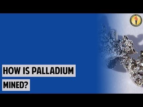 How Is Palladium Mined?