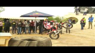 Redbull Stunt Bike Rider Wows Crowds In Nairobi