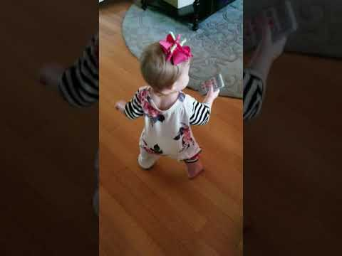 Uptown Funk Dancing With 11 Month Baby Saylor