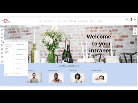 MyHub Intranet Features Overview