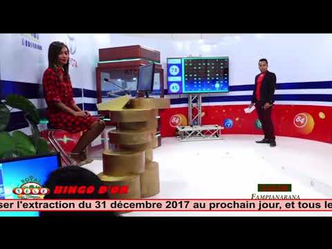 Royal Bingo Loto du 31 decembre  2017 BY TV PLUS MADAGASCAR