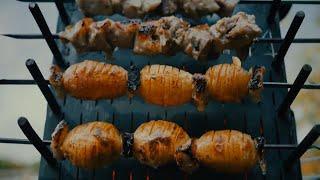 """Мангал """"Шайтан"""" для приготовления пищи на природе"""
