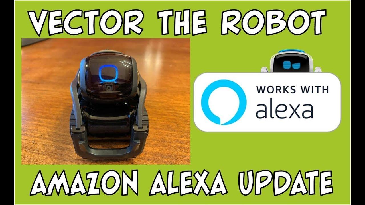 Vector the Robot | Amazon Alexa Update & Review | #HeyVector
