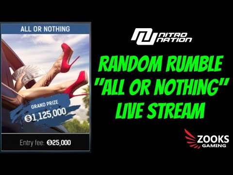 """NITRO NATION - GLOBAL RANDOM RUMBLE EVENT """"ALL OR NOTHING"""""""