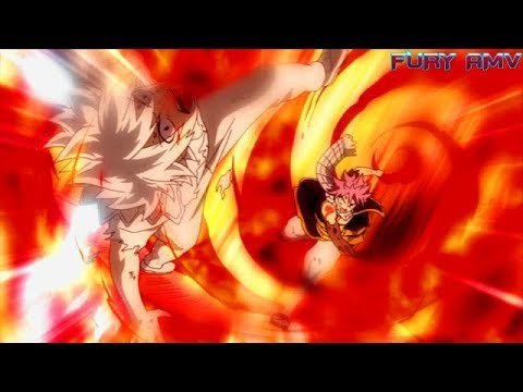 Fairy Tail Final Season: Natsu Vs Zeref「AMV」 -  Never Going Back | Skillet - [FULL FIGHT]